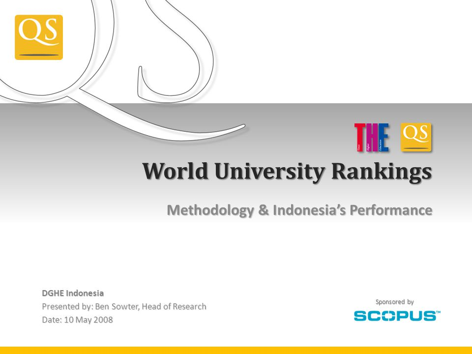 World University Rankings