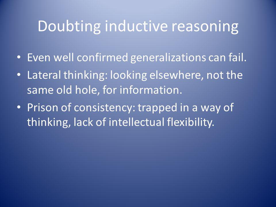Doubting inductive reasoning
