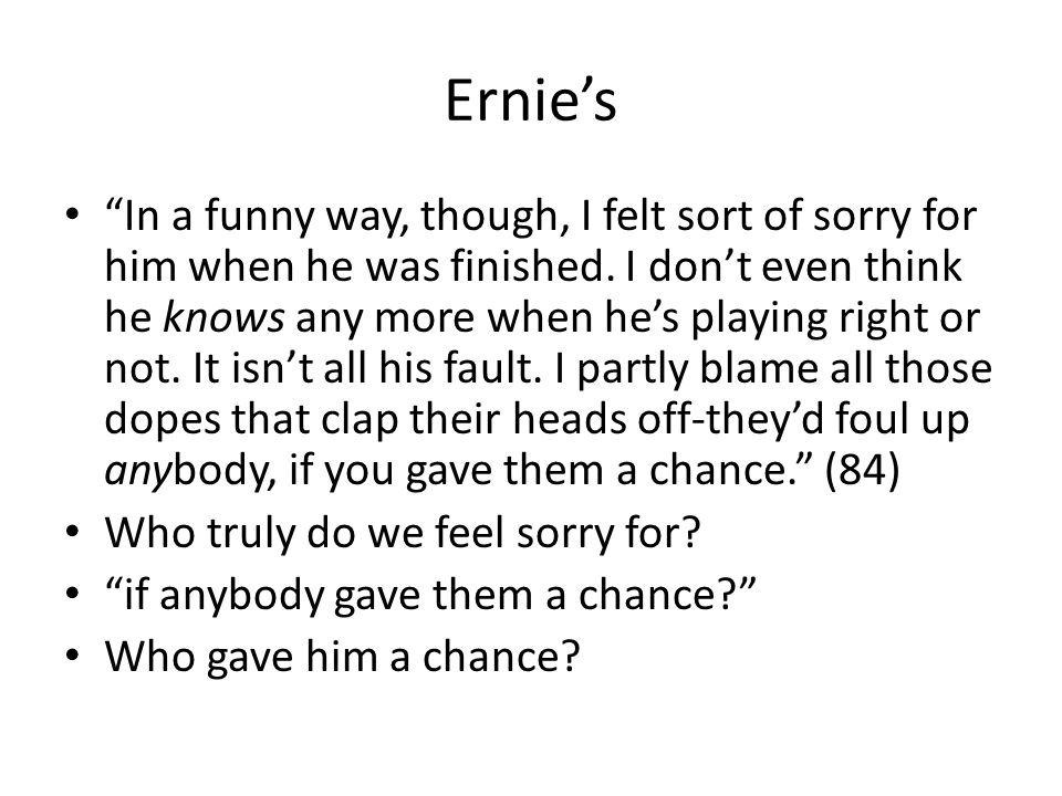 Ernie's