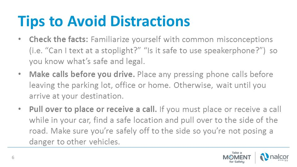 Tips to Avoid Distractions