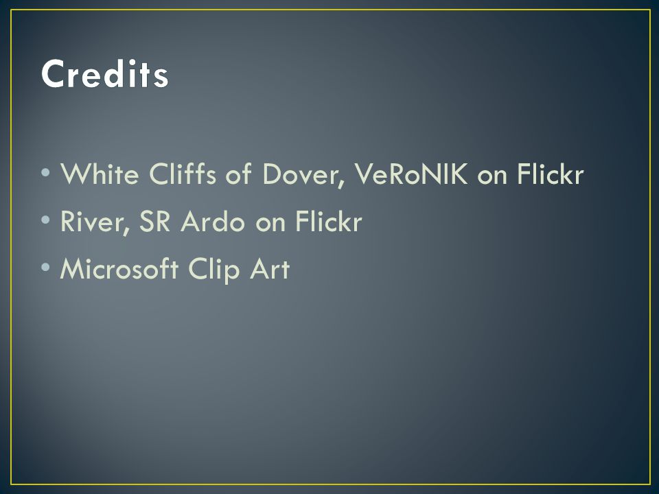 Credits White Cliffs of Dover, VeRoNIK on Flickr