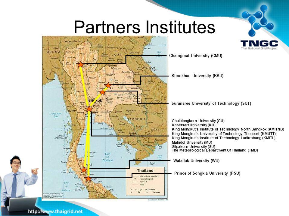 Partners Institutes Chaingmai University (CMU)