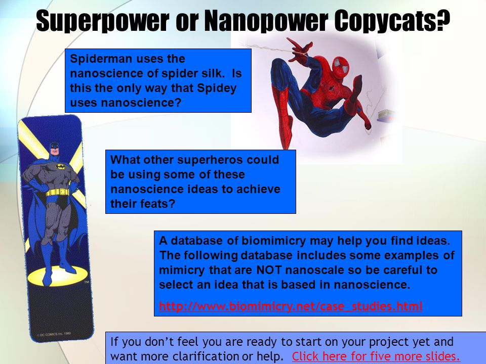 Superpower or Nanopower Copycats