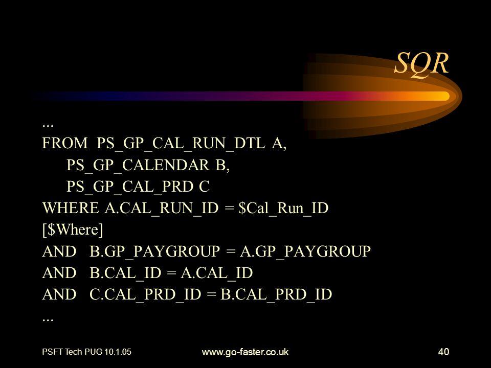 SQR ... FROM PS_GP_CAL_RUN_DTL A, PS_GP_CALENDAR B, PS_GP_CAL_PRD C
