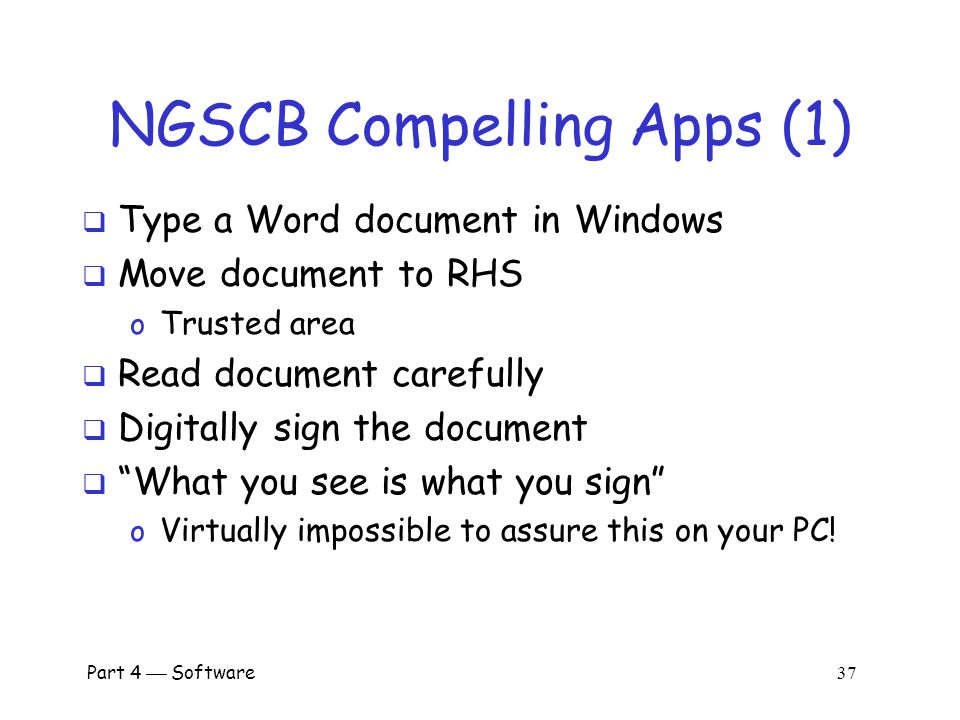NGSCB Compelling Apps (1)