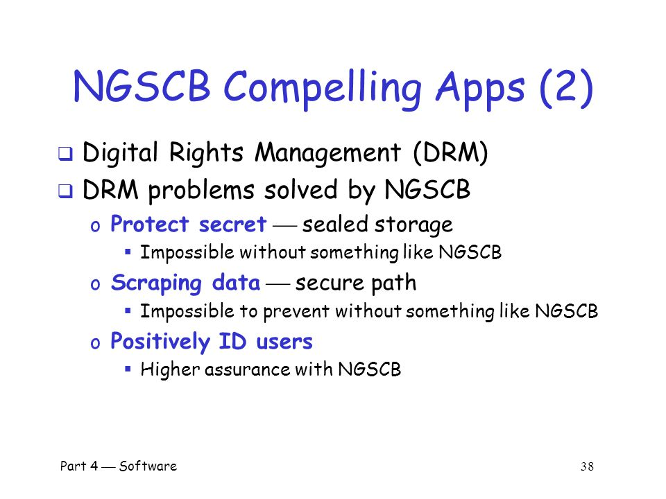 NGSCB Compelling Apps (2)