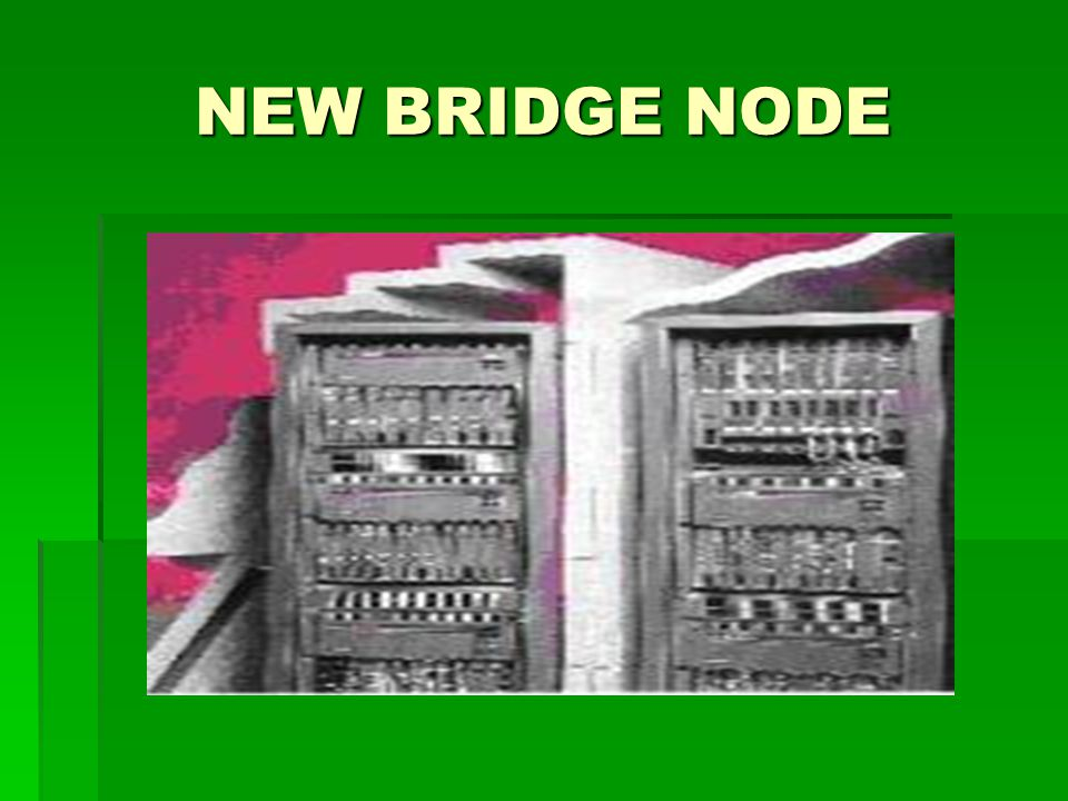 NEW BRIDGE NODE