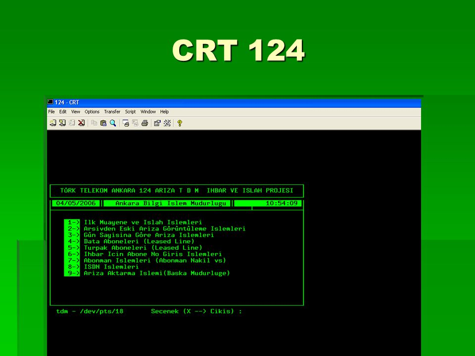 CRT 124