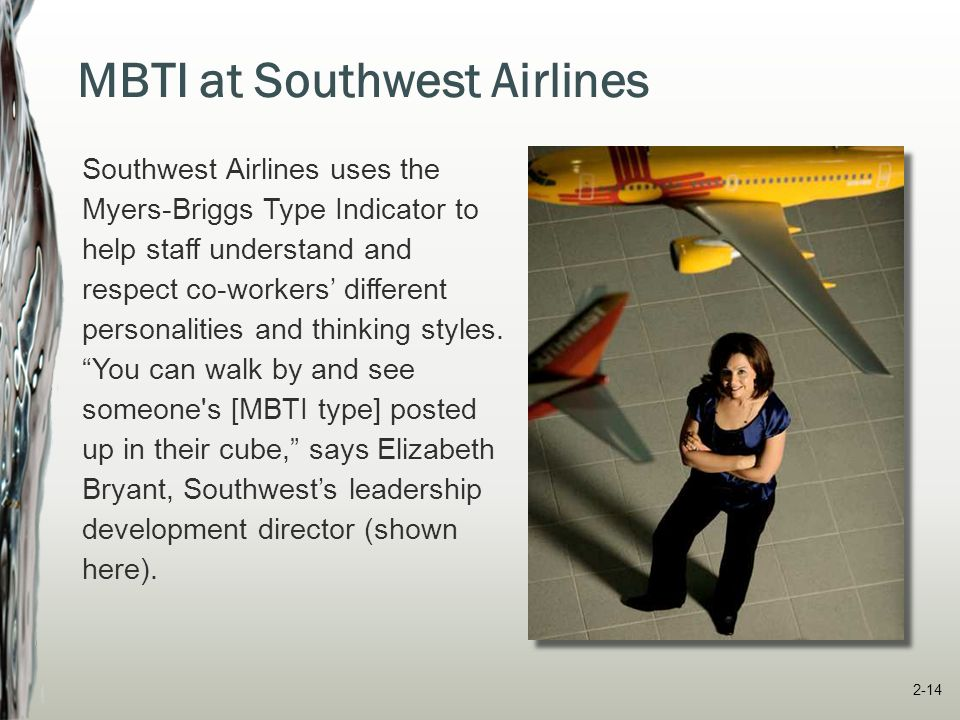 MBTI at Southwest Airlines