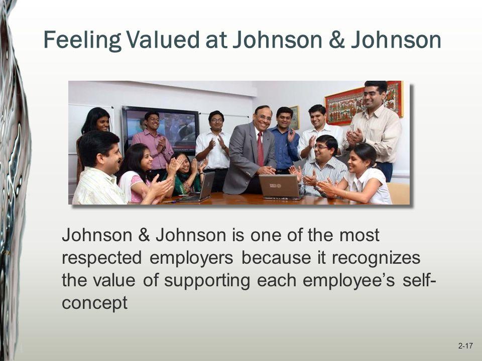 Feeling Valued at Johnson & Johnson