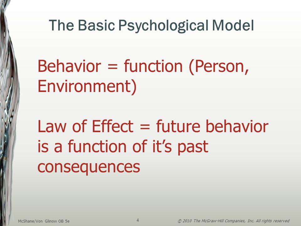 The Basic Psychological Model