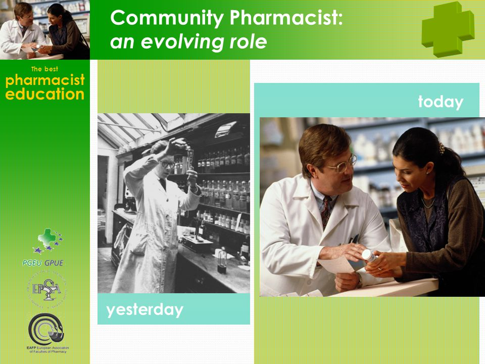Community Pharmacist: an evolving role
