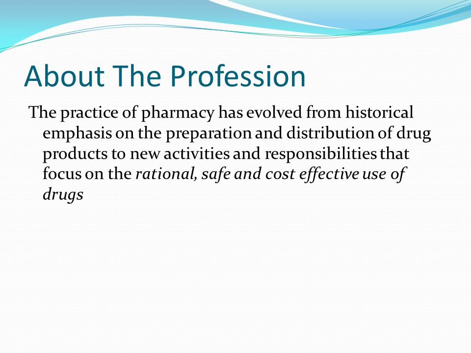About The Profession