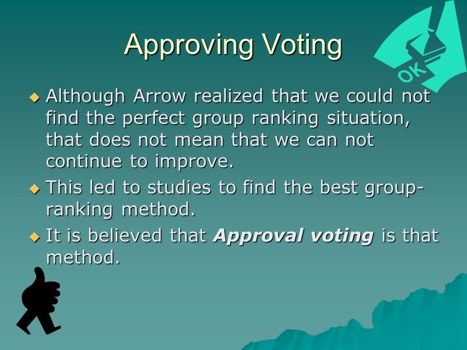 Approving Voting