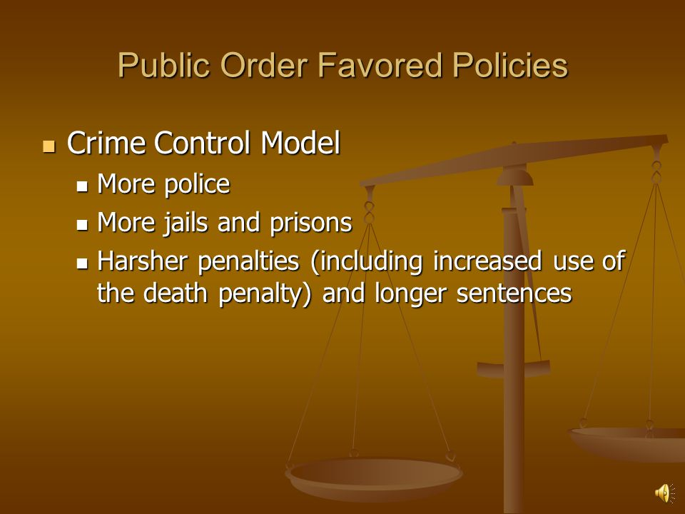 Public Order Favored Policies