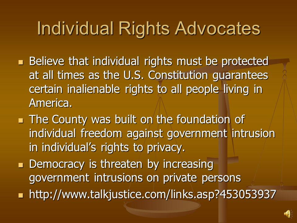 Individual Rights Advocates