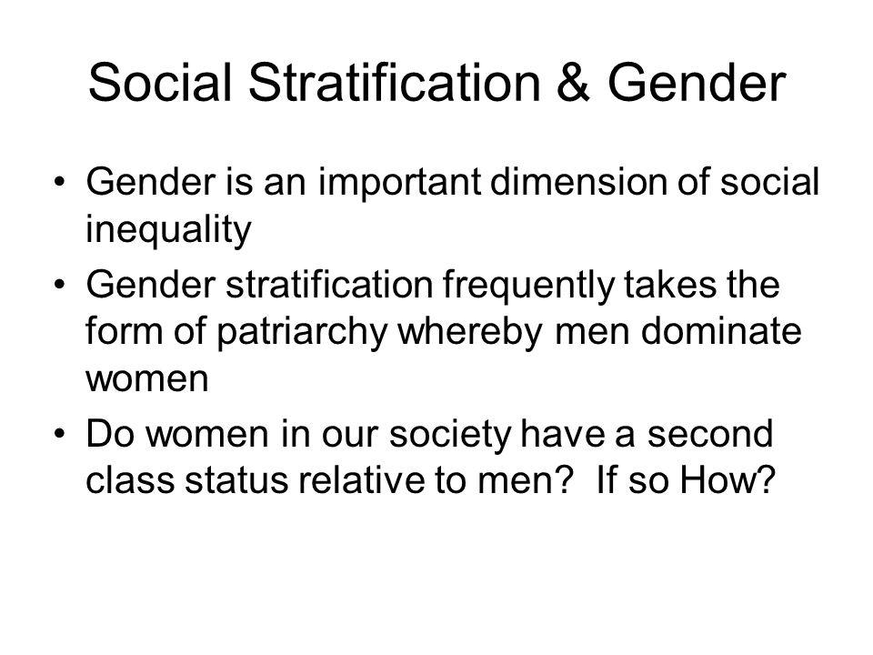 Social Stratification & Gender