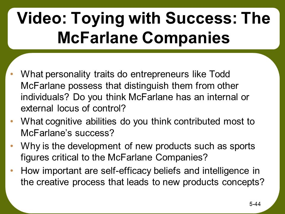 Video: Toying with Success: The McFarlane Companies