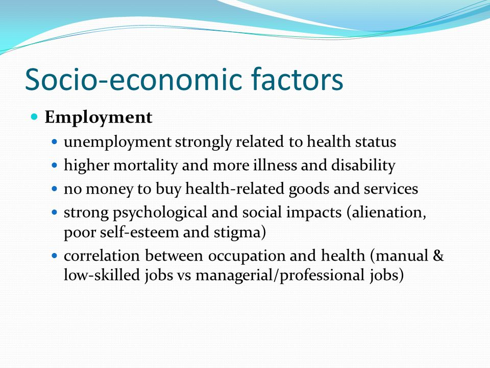 socio geographic factors Given the scope and complexities of social, cultural, economic, and geographic  factors that infringe upon ones health-seeking behavior, it is evident that not all.