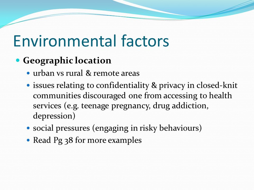 factors that influence teen pregnancy Teen pregnancy factors options consequences aurora simigiu university of bucharest, romania  has a preventive influence on teen pregnancy ethnicity is also an important factor in the  family and contextual factors influence the manner in which girls make a decision on the.
