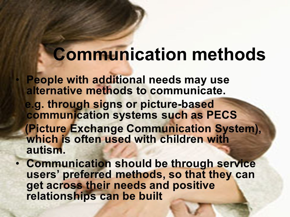 Communication methods
