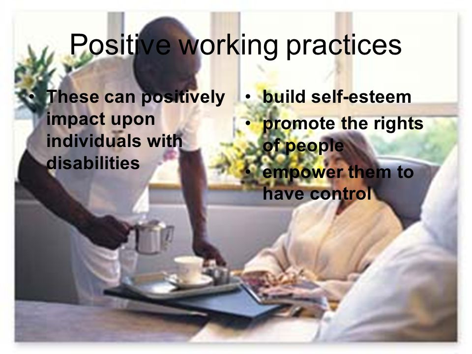 Positive working practices