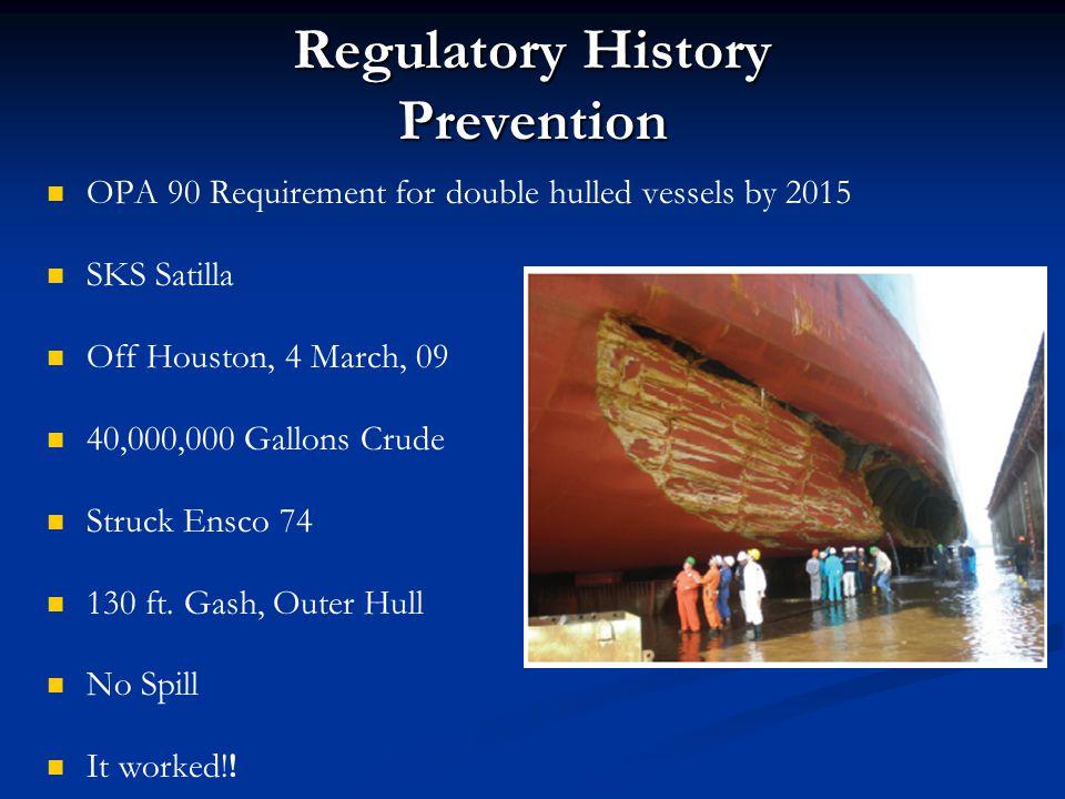 Regulatory History Prevention