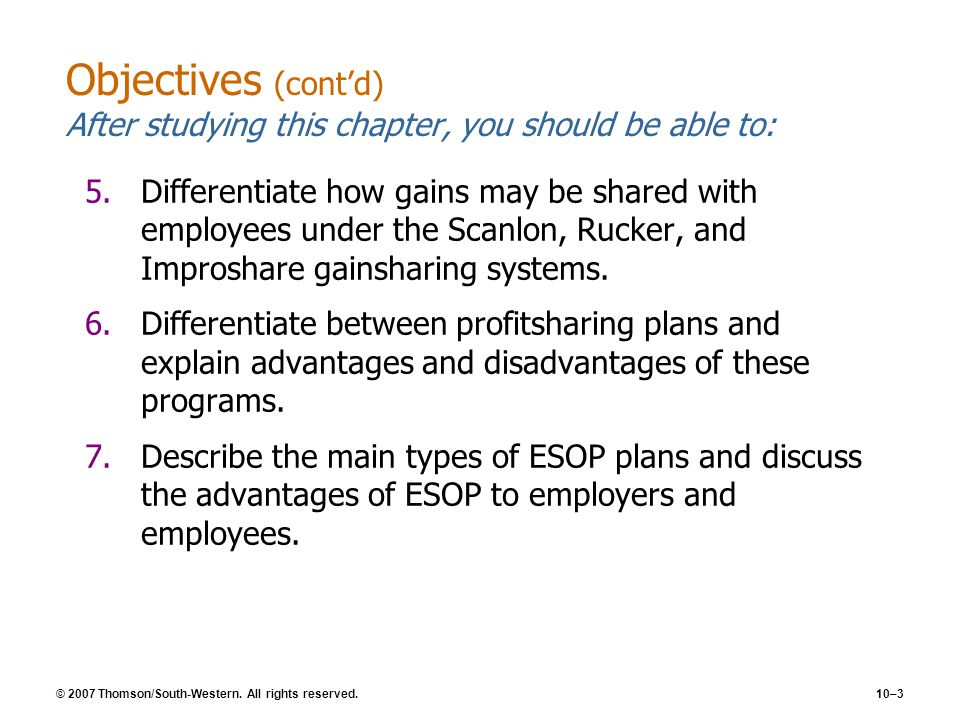 Objectives (cont'd) After studying this chapter, you should be able to: