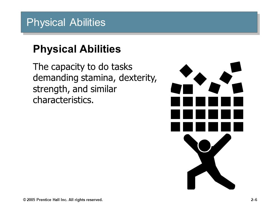 Nine Physical Abilities
