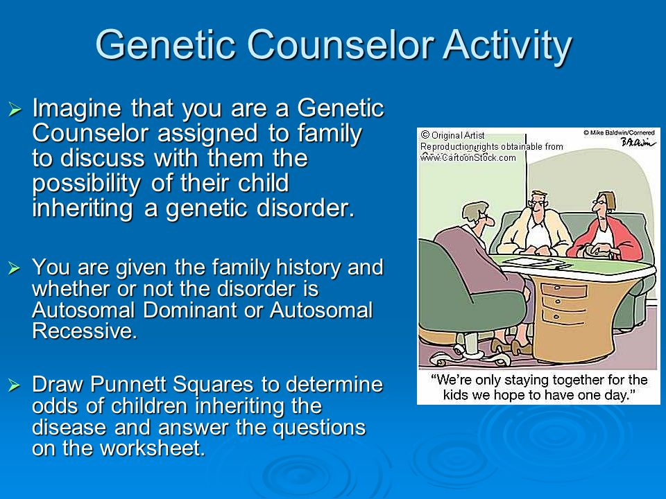 Genetic Counselor Activity