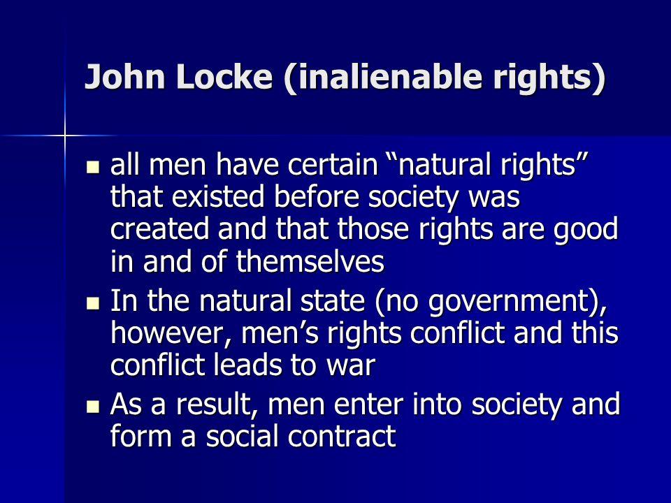 John Locke (inalienable rights)