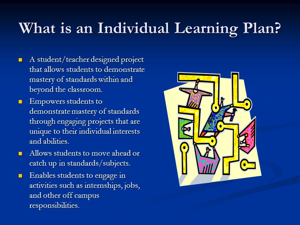 What is an Individual Learning Plan