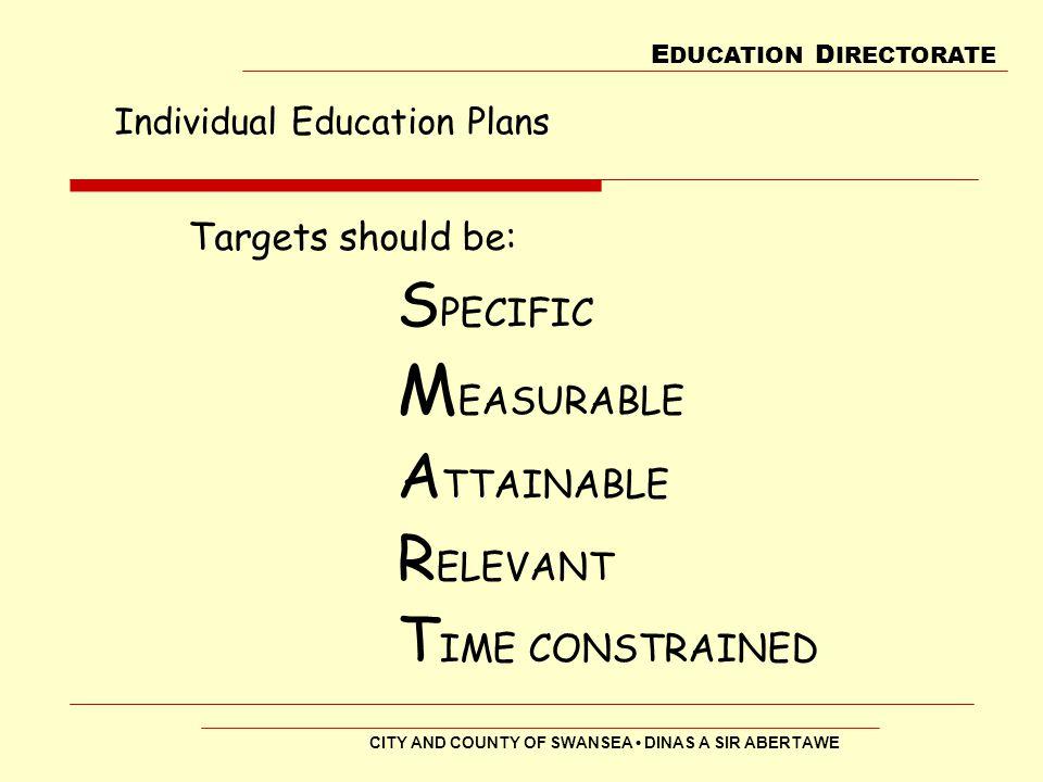 Individual Education Plans