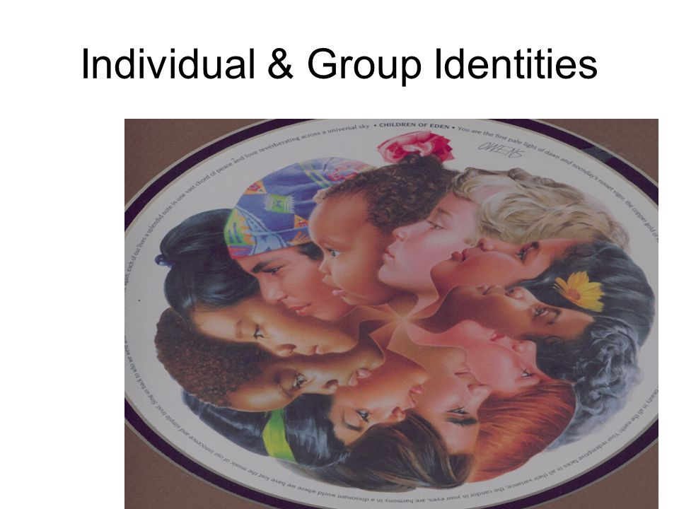 Individual & Group Identities