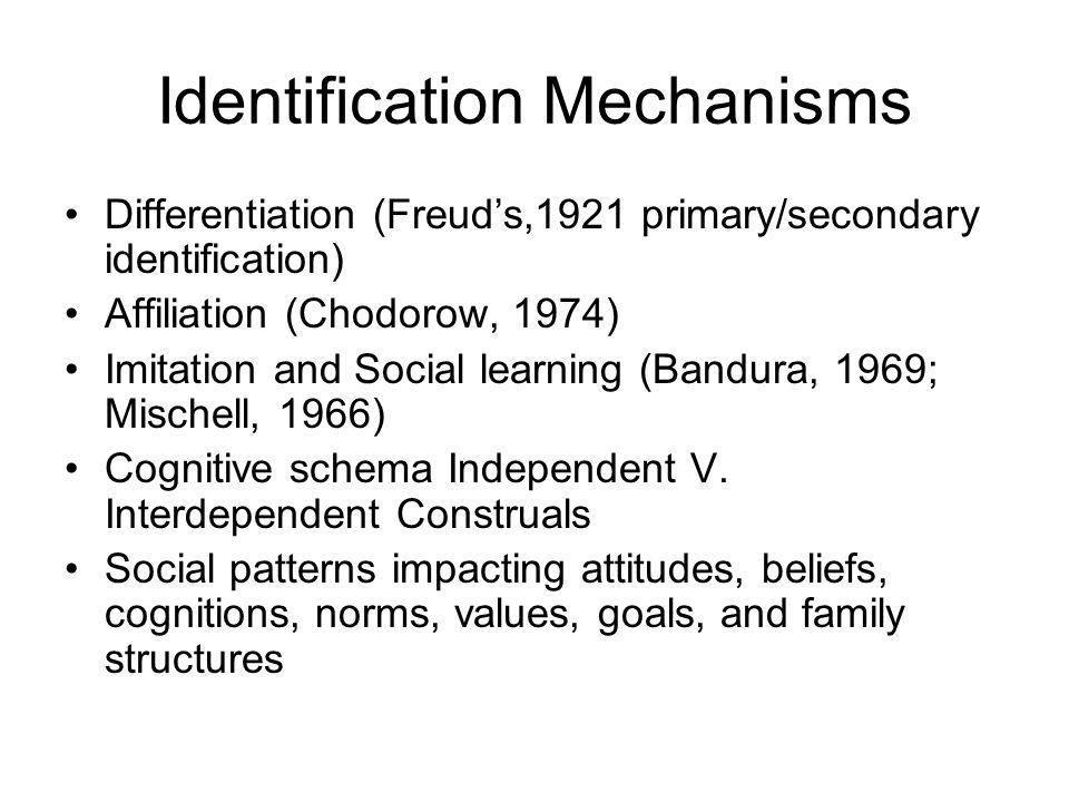 Identification Mechanisms