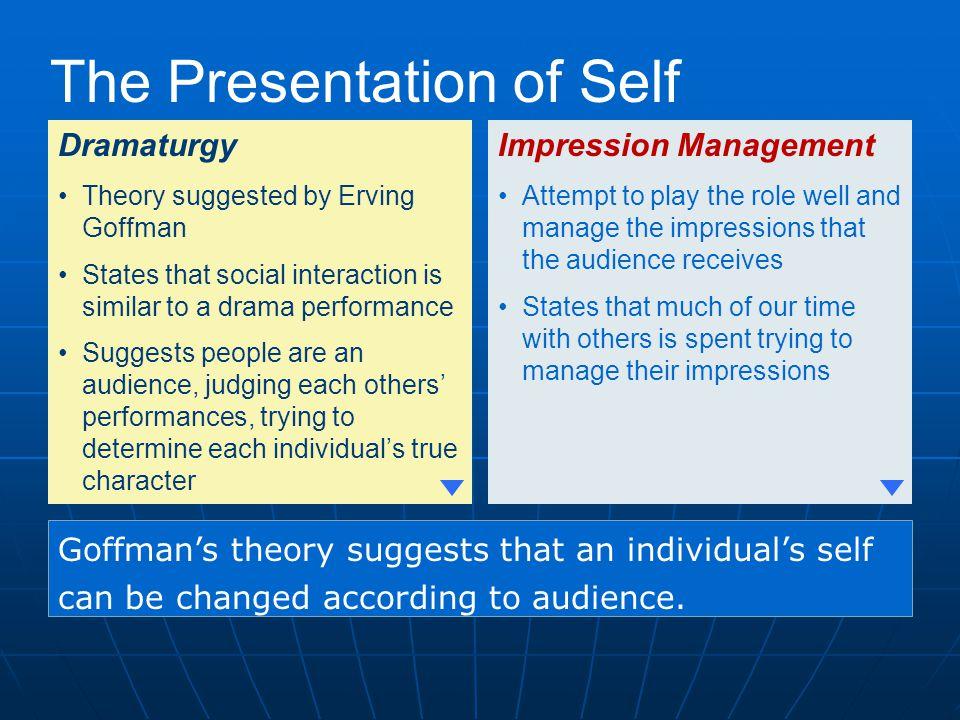 The Presentation of Self