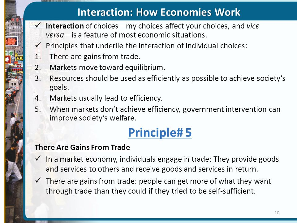 Interaction: How Economies Work