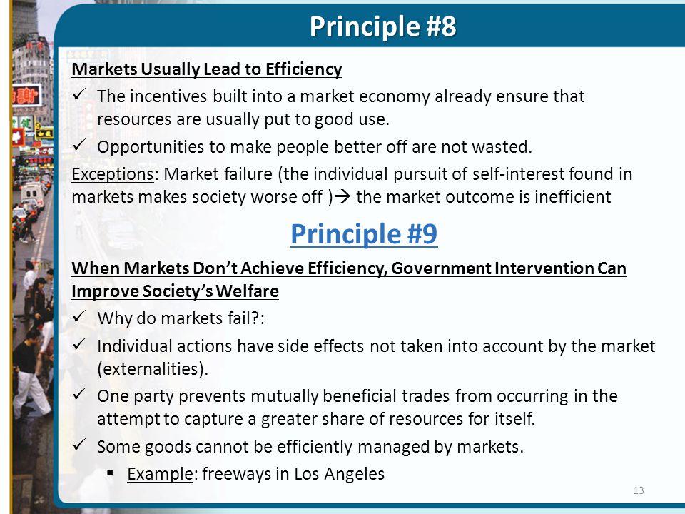 Principle #8 Principle #9