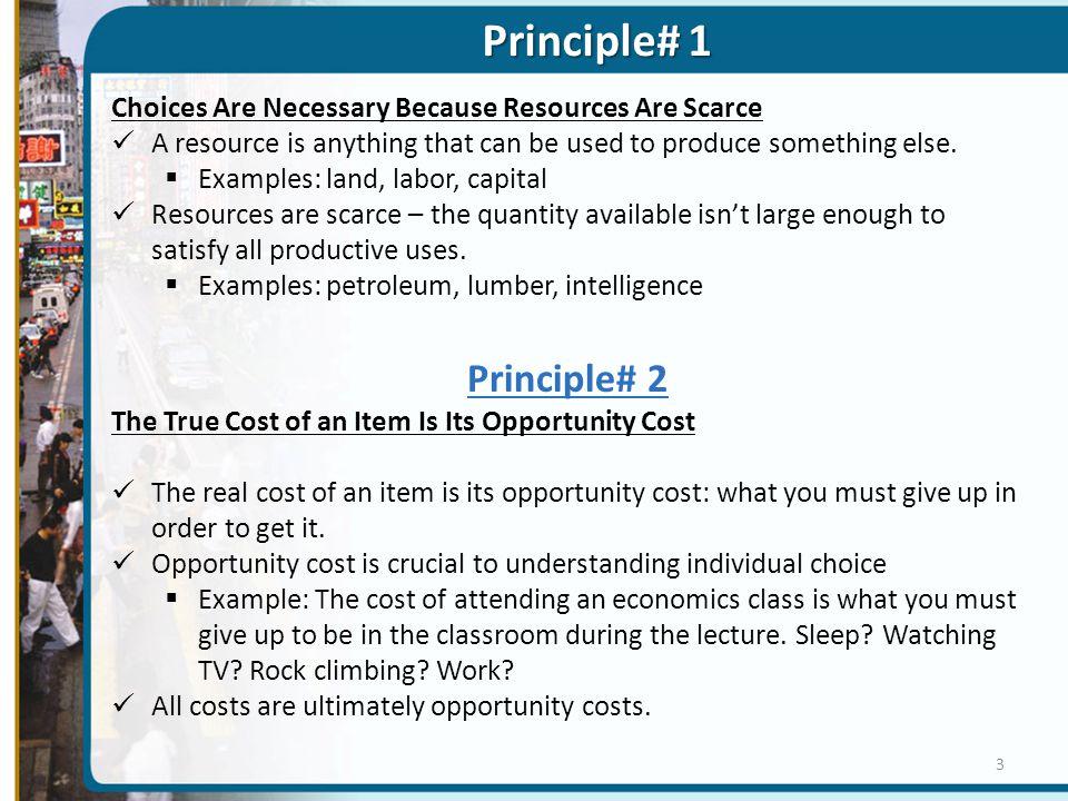 Principle# 1 Principle# 2