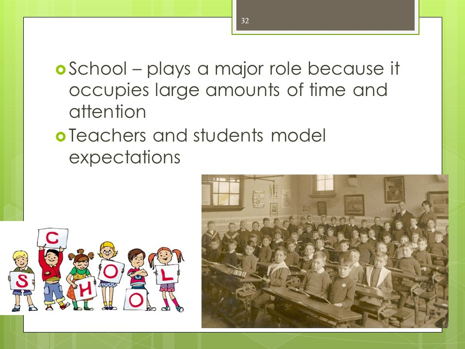 Teachers and students model expectations