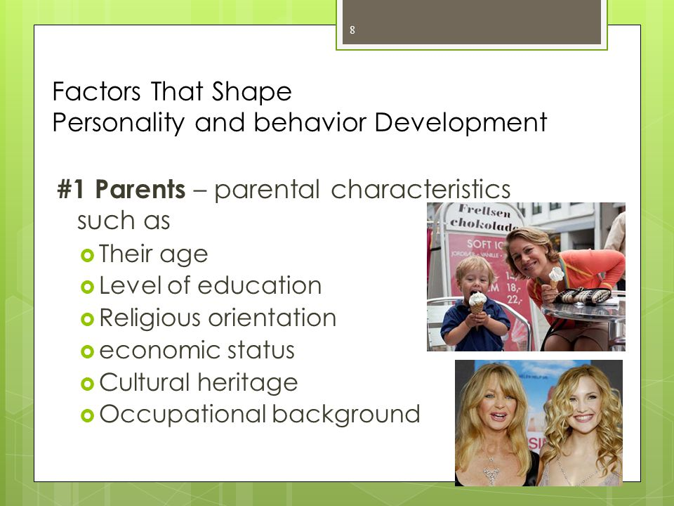 Factors That Shape Personality and behavior Development