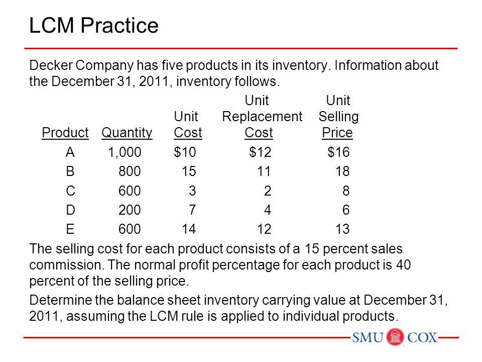LCM Practice