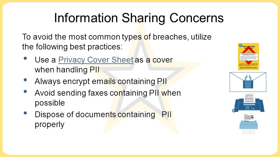 Information Sharing Concerns