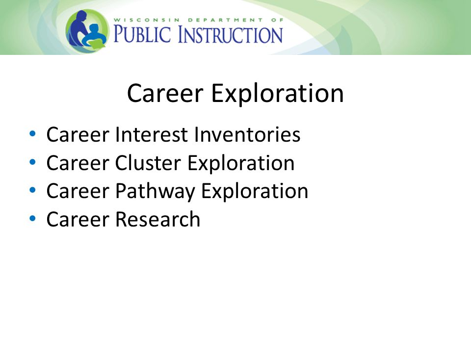 Career Exploration Career Interest Inventories