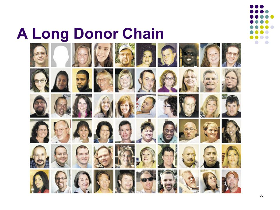 A Long Donor Chain