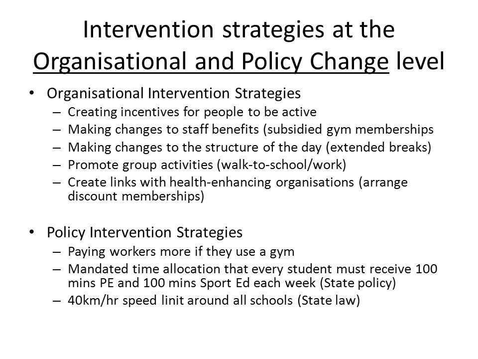 how intervention strategies contribute to change Intervention strategies for negative thoughts you will be able to change the name one of your behaviors that contribute to your negative thoughts about math c.