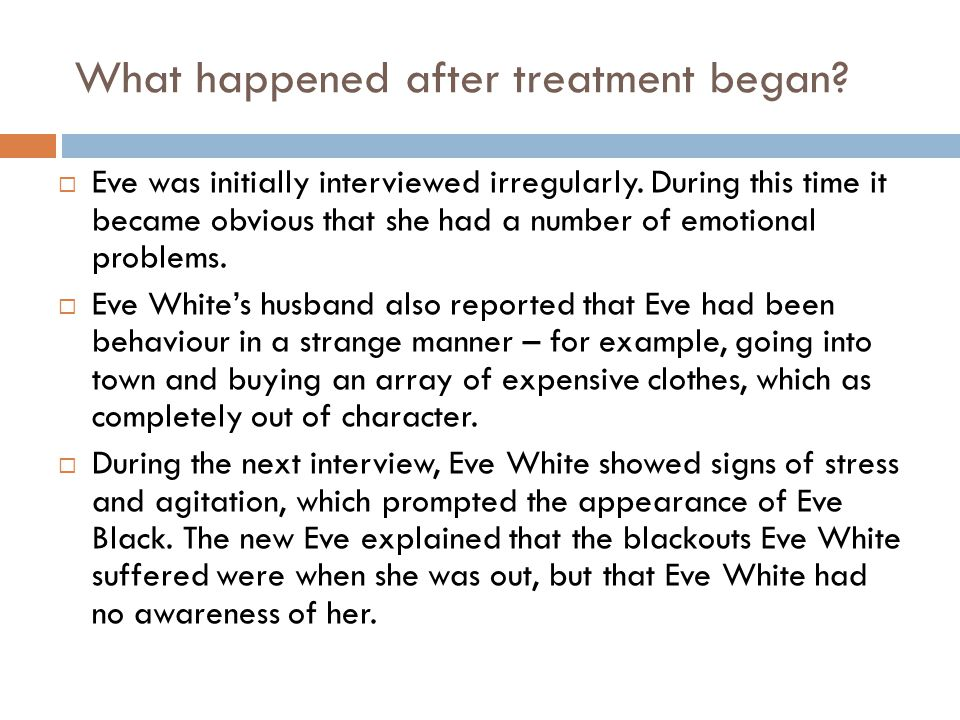 What happened after treatment began