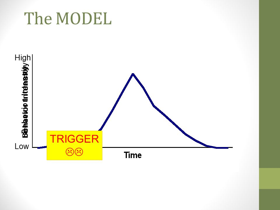 The MODEL High TRIGGER  Low
