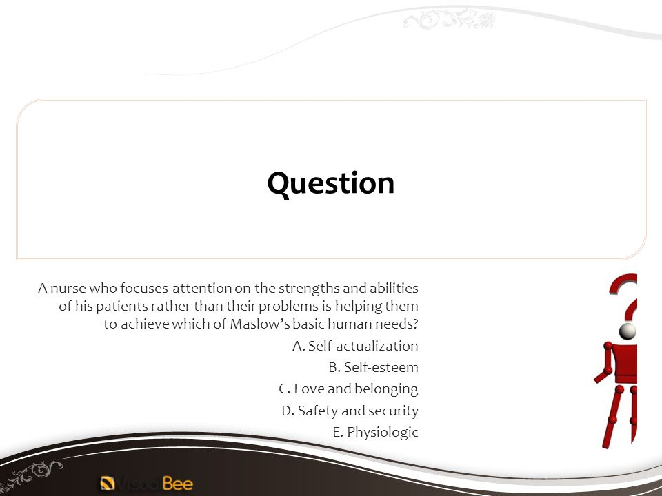 Question E. Physiologic