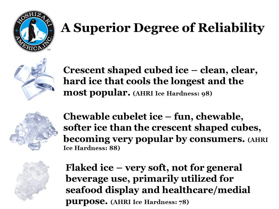 A Superior Degree of Reliability